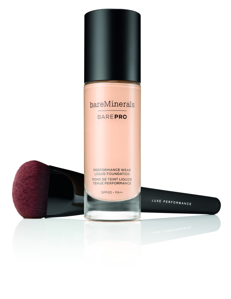 BAREPRO Liquid Foundation and Luxe Performance Brush